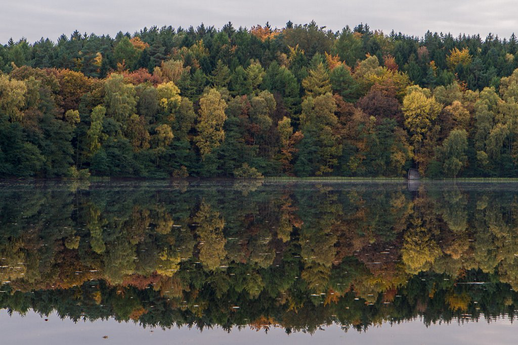 Herbstfarben am Pinnsee